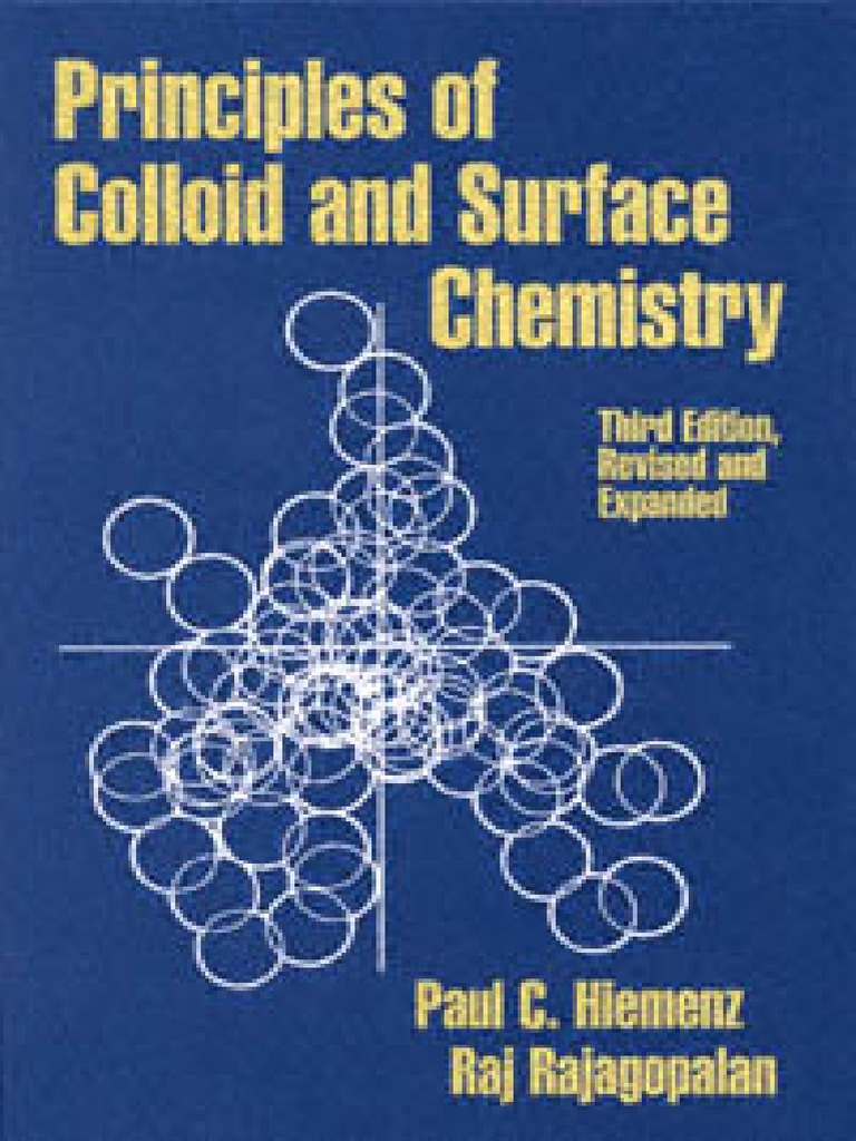 Principles of colloid and surface chemistry cell membrane adsorption fandeluxe Choice Image