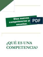 LAS  10 COMPETENCIAS Philipp Perrenoud.ppt