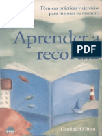 Dominic O'Brien - Aprender a Recordar
