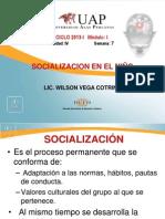 12. SOCIALIZACION DEL NIÑO