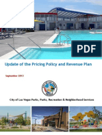 Las Vegas Parks Fees Report