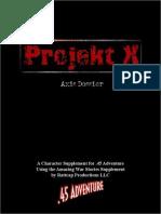 ProjektX Axis