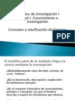 La Ciencia y Su Clasificacion (1).Ppt MUY BUENO