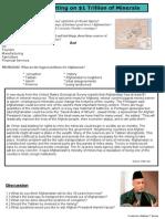 Afghan Minerals ESL plan