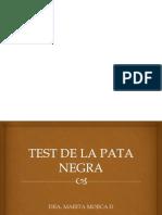 Test de La Pata Negra-1
