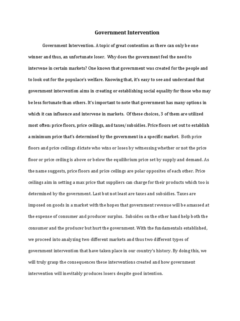 My English Class Essay Microeconomics Essay   Price Elasticity Of Demand  Economic  Interventionism Thesis For An Analysis Essay also Businessman Essay Microeconomics Essay   Price Elasticity Of Demand  Economic  Interesting Persuasive Essay Topics For High School Students