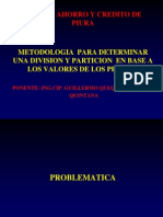 Metodologia Para Division y Particion Caja Municipal