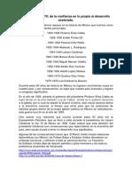trabajo de recursos y necesidades de México