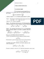Descomposicion en Fracciones Parciales