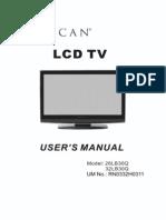 Manual Proscan 32lb30q