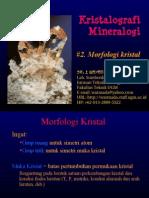 2. Kristalografi Dan Mineralogi - 2