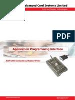 API for Acr120s Smart Card