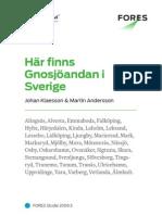 Här finns Gnosjöandan i Sverige - FORES Studie 2009:3