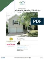 Residential Property Report - 2037 E Wyandotte Street Olathe, KS 66062