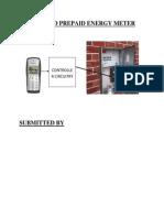 Dtmf Based Prepaid Energy Meter