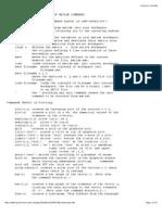 Brief MatLab Commands