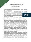 Sartre, Jean Paul - El Existencialismo Es Un Humanismo