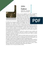 John Dalton Biografia