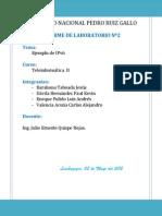 Laboratorio 2 - IPv6