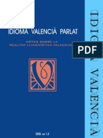 Idioma Valencià