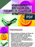 Preparacion y Presentacion Del Estado de Flujos De