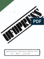 UFOPRESS 01 (Octubre 1976