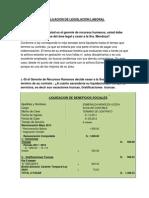 Evaluacion de Legislacion Laboral