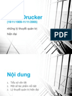Peter Drucker.