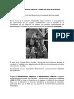Evolución del Mantenimiento Industrial y etapas a lo largo de su historia