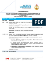 Programme Agenda_Judicial Colloquium on Gender Equality