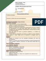 Guia de Actividades Reconocimiento 2013 II Termodinamica