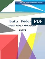 Buku Pedoman PKM P3M 2013