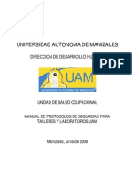 Manual de Protocolos de Seguridad