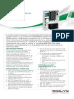 ROSSLARE AC 225 Datasheet v01 310512 Spanish A4