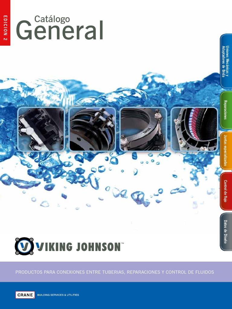 Viking johnson catalogo general espanol for Productos para desatascar tuberias