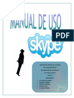 Manual de Uso Skype