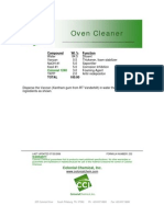 Oven Cleaner - 232