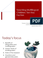 Zurich is German Teachers Switzerland TOKUHAMA Ten Key Factors 2