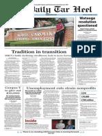 The Daily Tar Heel for September 19, 2013