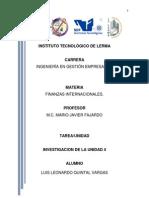 Unidad 4- Las Instituciones Financieras Internacionales