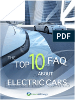 Top 10 FAQ About Electric Cars