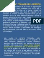 Presentación CEMENTO HIDRATACION