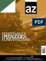 Woodside, Julián - Crítica a la crítica cultural entre la memoria y la imaginación (AZ Revista de Educación y Cultura)