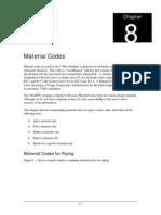 Chap 8 - Material Codes