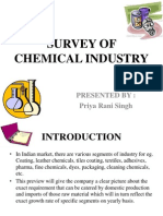Survey of Chemical Industry