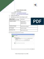 Online Training Procedure
