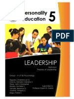 Leadership -Definitions and Theories
