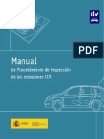 Manual de Procedimiento de Revision de Las ITV - 2012