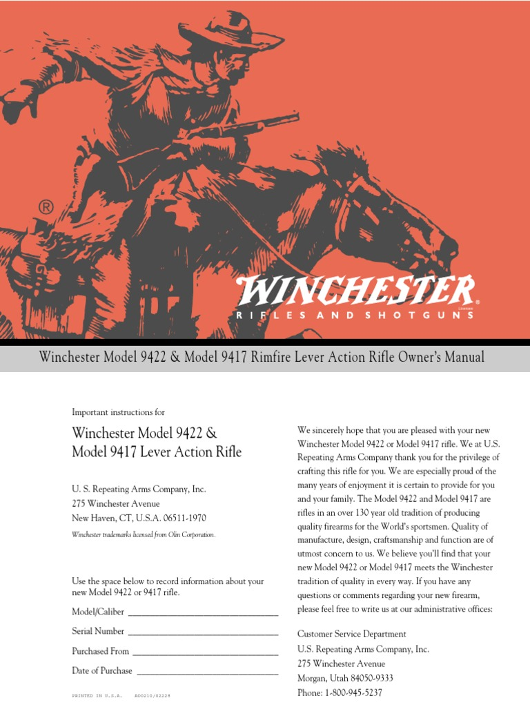 winchester dating by serial number