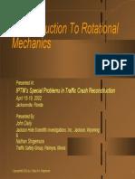 An Introduction to Rotational Mechanics